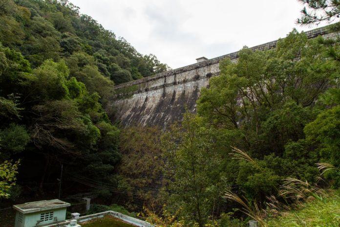 Nunobiki Dam.