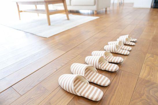 Zapatillas o pantuflas. © Pixta