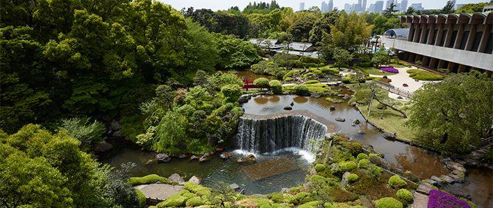 les jardins japonais traditionnels de l