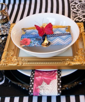 Indoor Tablescape : Soiree