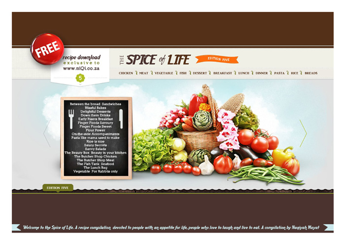 The spice of life ed 5 free recipe book download niqi the spice of life ed 5 free recipe book download forumfinder Image collections