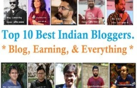 Top 10 Best Indian Bloggers, Blog, & Earning Everything - Nirajforhelp.com