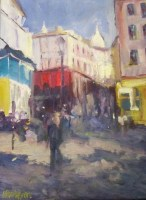 Montmartre Paris - Oil - 40cm x 30cm