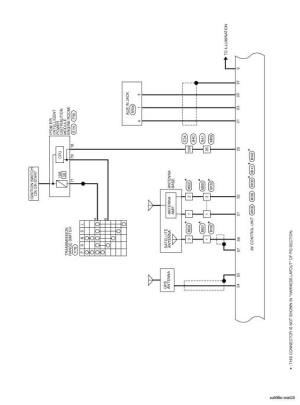 Nissan Rogue Service Manual: Wiring diagram  Navigation
