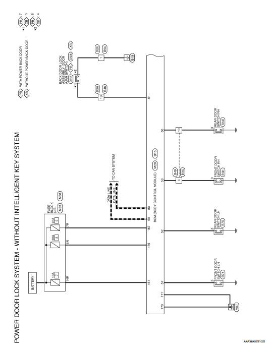 Wiring Diagram Keyless Entry System