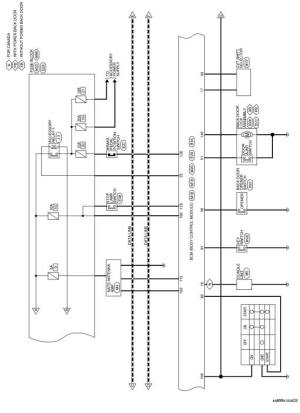Nissan Rogue Service Manual: Wiring diagram  Without