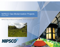 NIPSCO Gas Modernization Projects (Jan 2016)