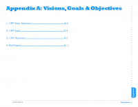 Appendix A:  Visions, Goals & Objectives