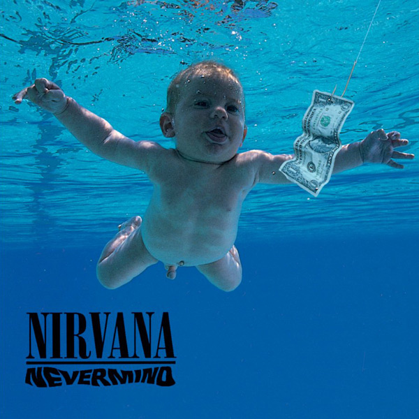 Image result for nevermind nirvana