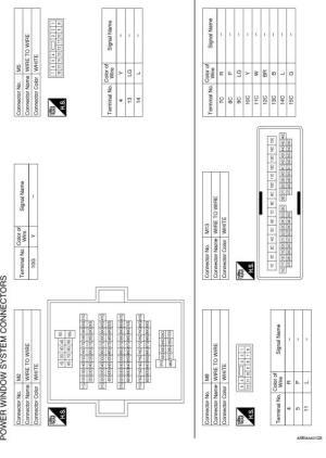 Nissan Sentra Service Manual: Wiring diagram  Power