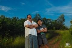 Rajesh and Kshitij. Parkala, near Manipal. November 2013.