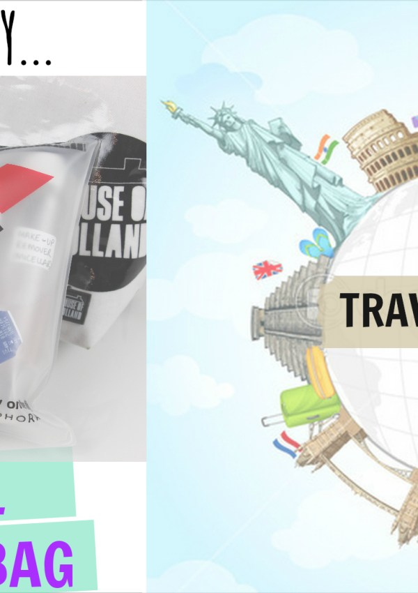 What's In My Make-up Bag   Travel Series #1
