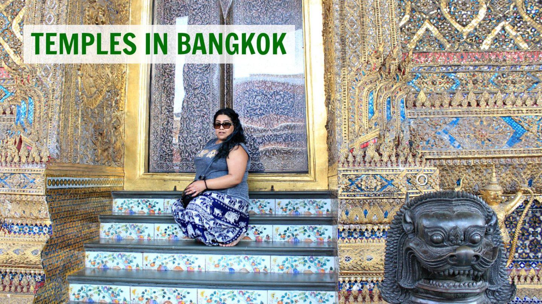 Buddhist Temples In Bangkok Travel Vlog #19