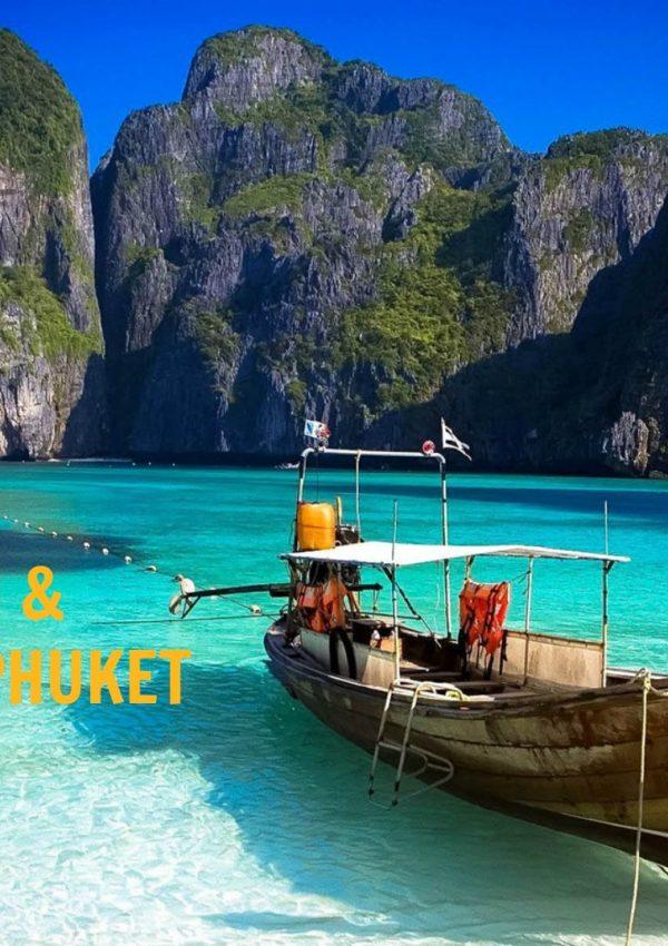 Koh Phi Phi & Phuket Travel Vlog #21