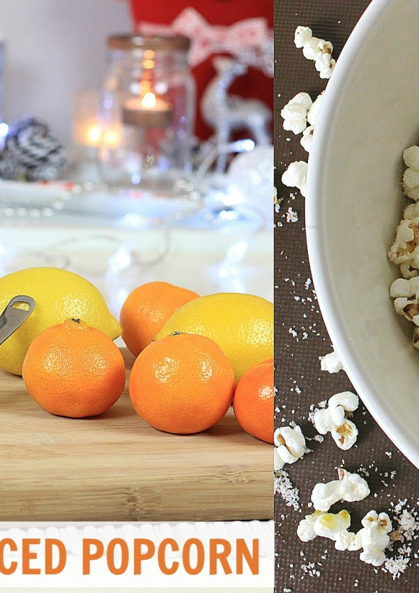 How To Make Christmas Spiced Popcorn
