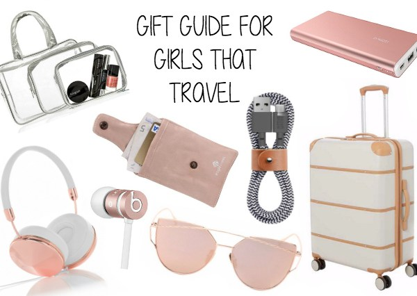 Christmas Gift Guide For Girls That Travel