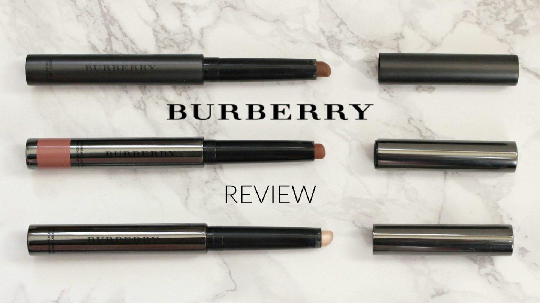BURBERRY BEAUTY FRESH GLOW & FACE CONTOUR REVIEW
