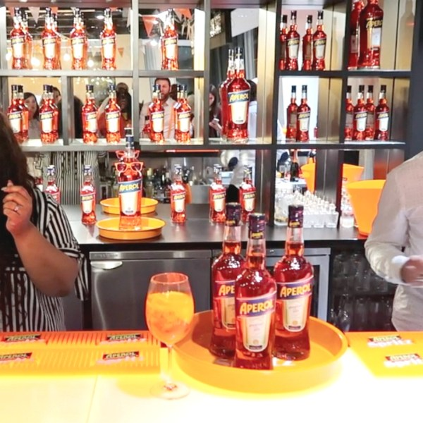aperol spritz, the shard, campari, www.nishiv.com
