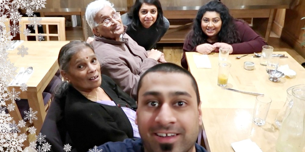 TAKING MY GRANDPARENTS OUT FOR LUNCH / Nishi V Vlogmas Day 2, www.nishiv.com