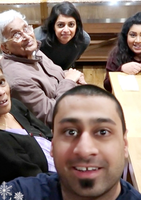 Taking My Grandparents Out for Lunch / Nishi V Vlogmas Day 2