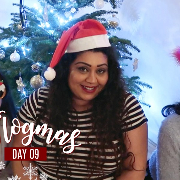 FAMILY CHRISTMAS DRINKS & DECORATING THE TREE / Nishi V Vlogmas Day 9