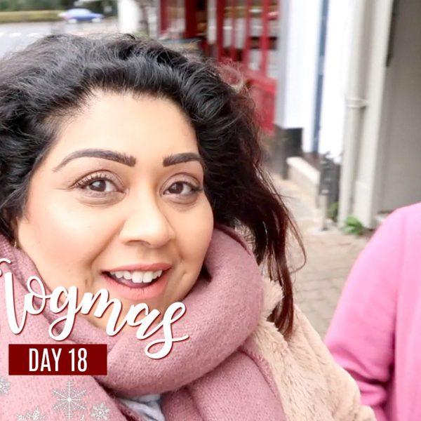 SHE CALLED ME A LION! / Nishi V Vlogmas Day 18