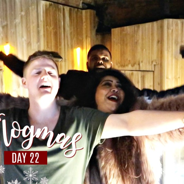 DRUNKEN KARAOKE & SURPRISING MY GRANDPARENTS / Nishi V Vlogmas Day 22