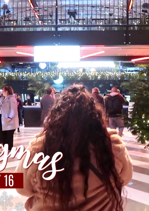 Boxpark Wembley & Vlogging Fail! / Nishi V Vlogmas Day 16