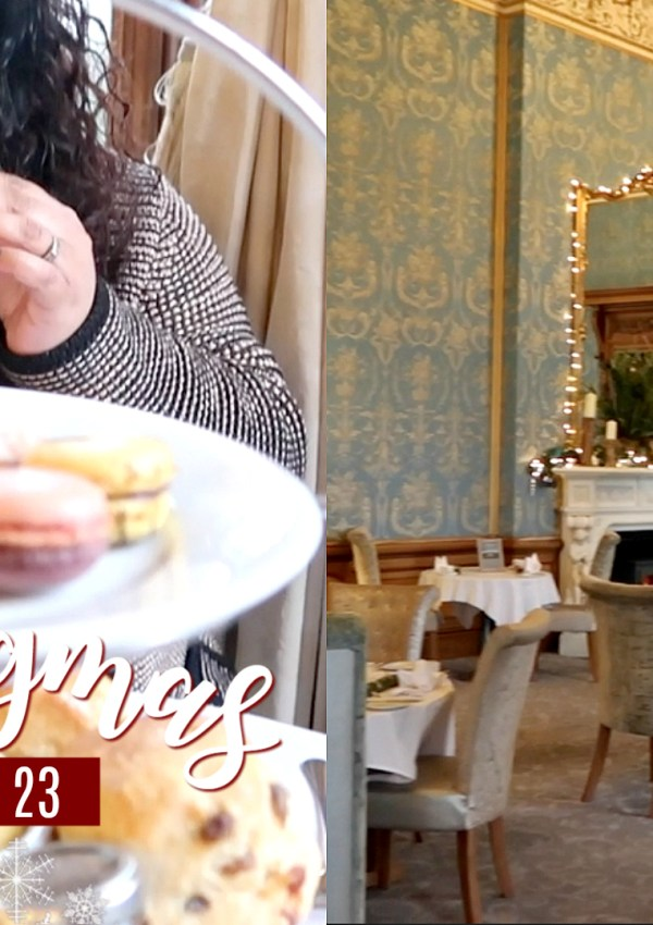 Afternoon Tea at Thoresby Hall / Nishi V Vlogmas Day 23