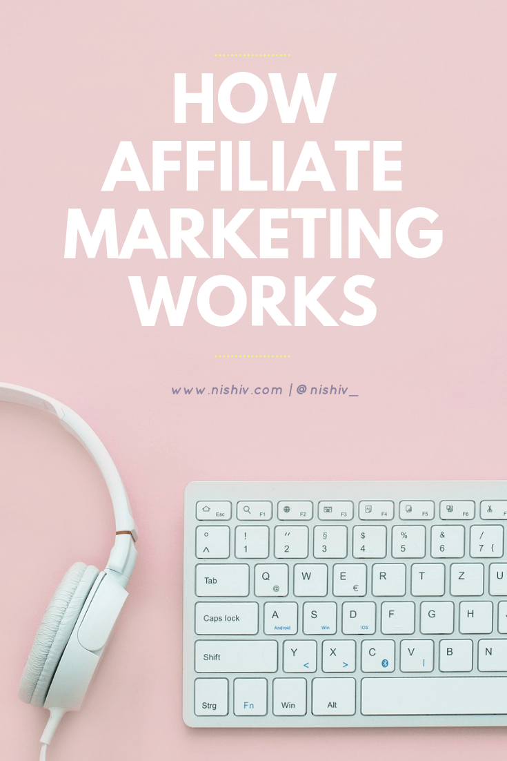 How Affiliate Links Work - How Bloggers Make Money From Your Purchases, nishi v, www.nishiv.com