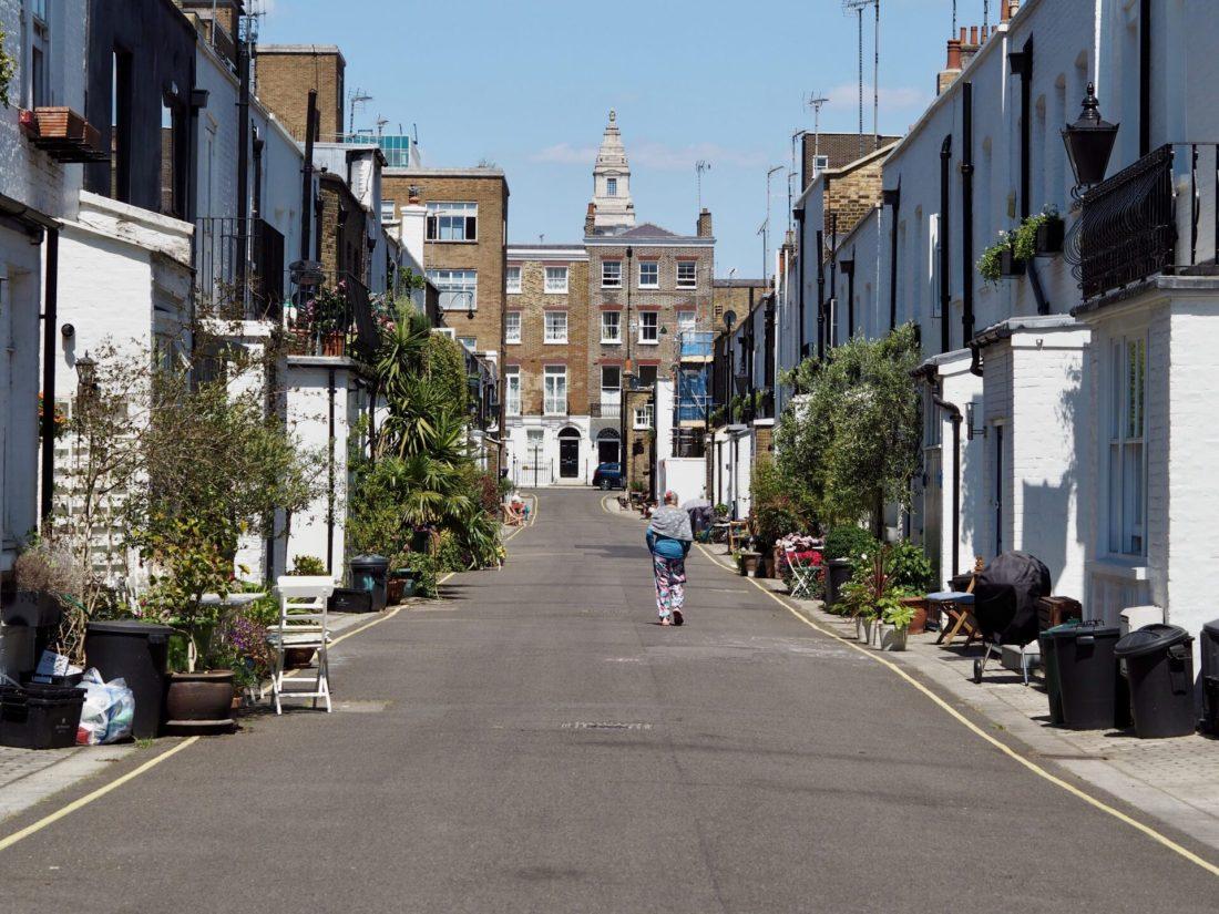 Lockdown London: Photo Diary of gloucester mes, baker street