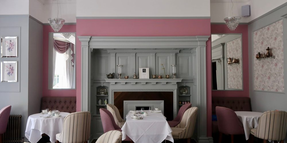 Laura Ashley The Tea Room decor