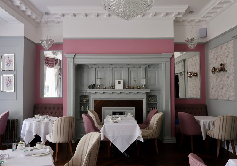 Laura Ashley The Tea Room decor