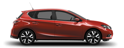Nissan Pulsar - Side view