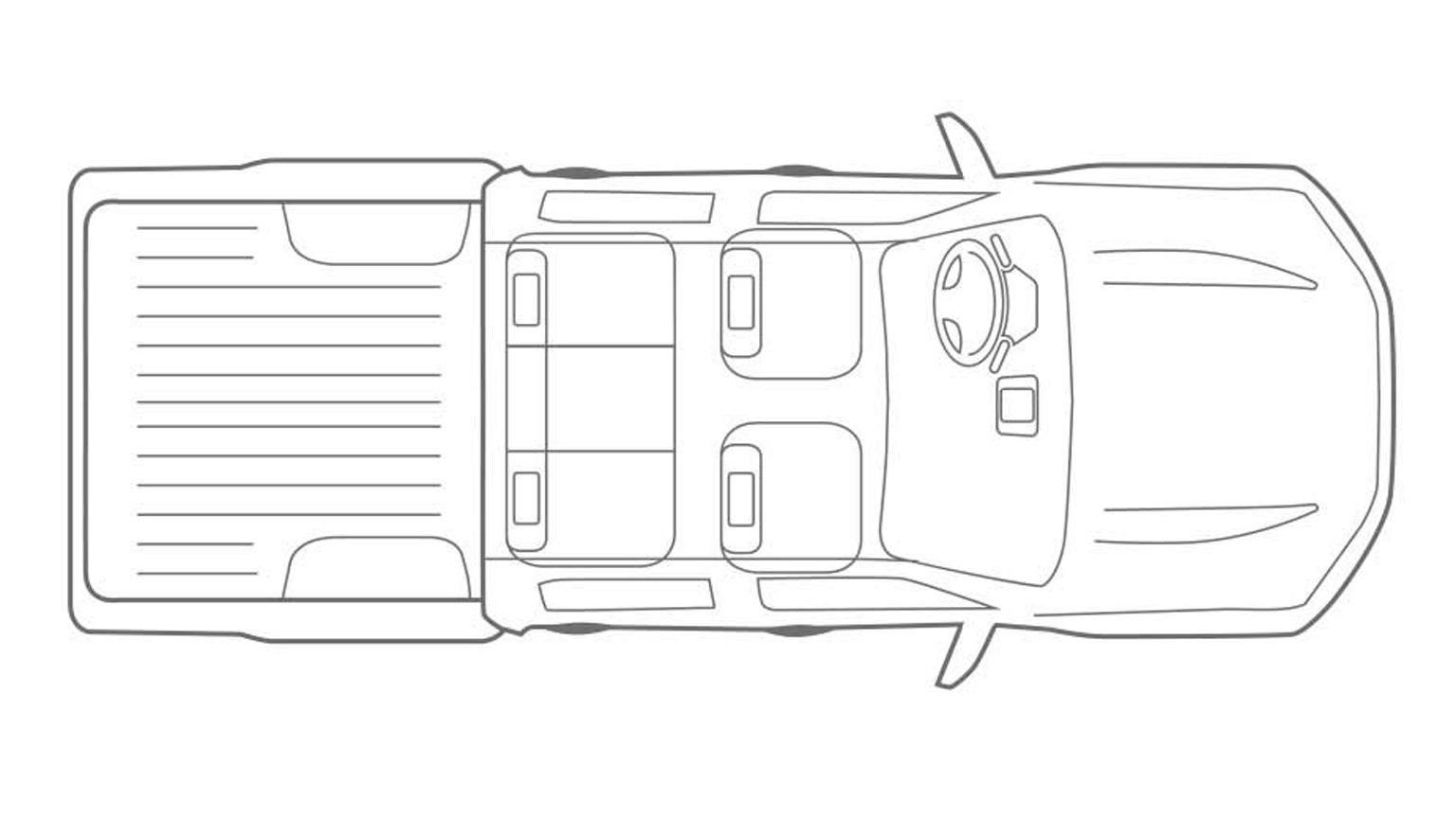 Nissan Navara Dimensions Bed