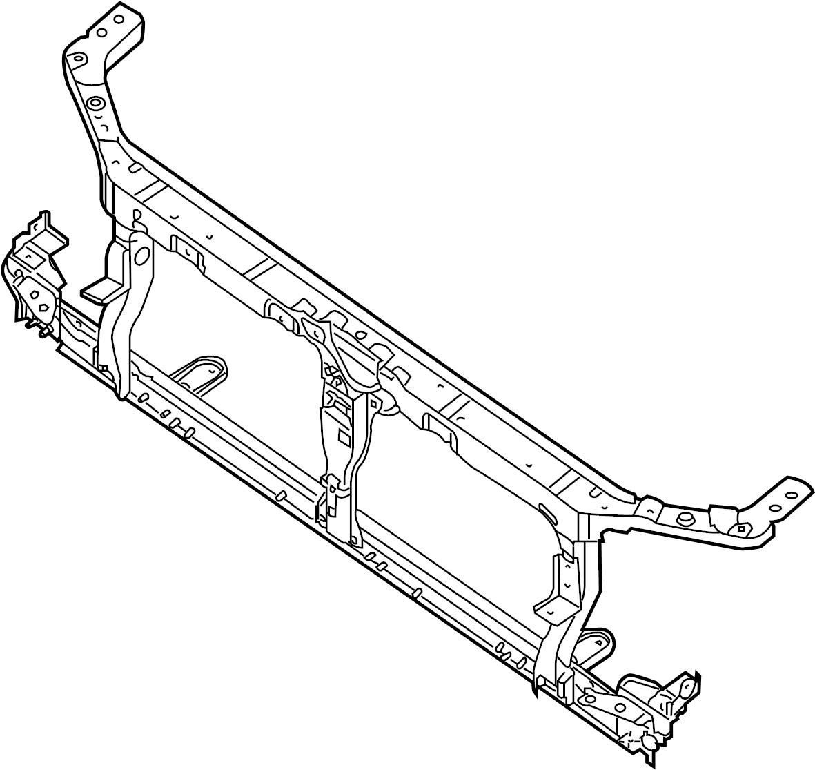 Nissan Frontier Radiator Support Panel