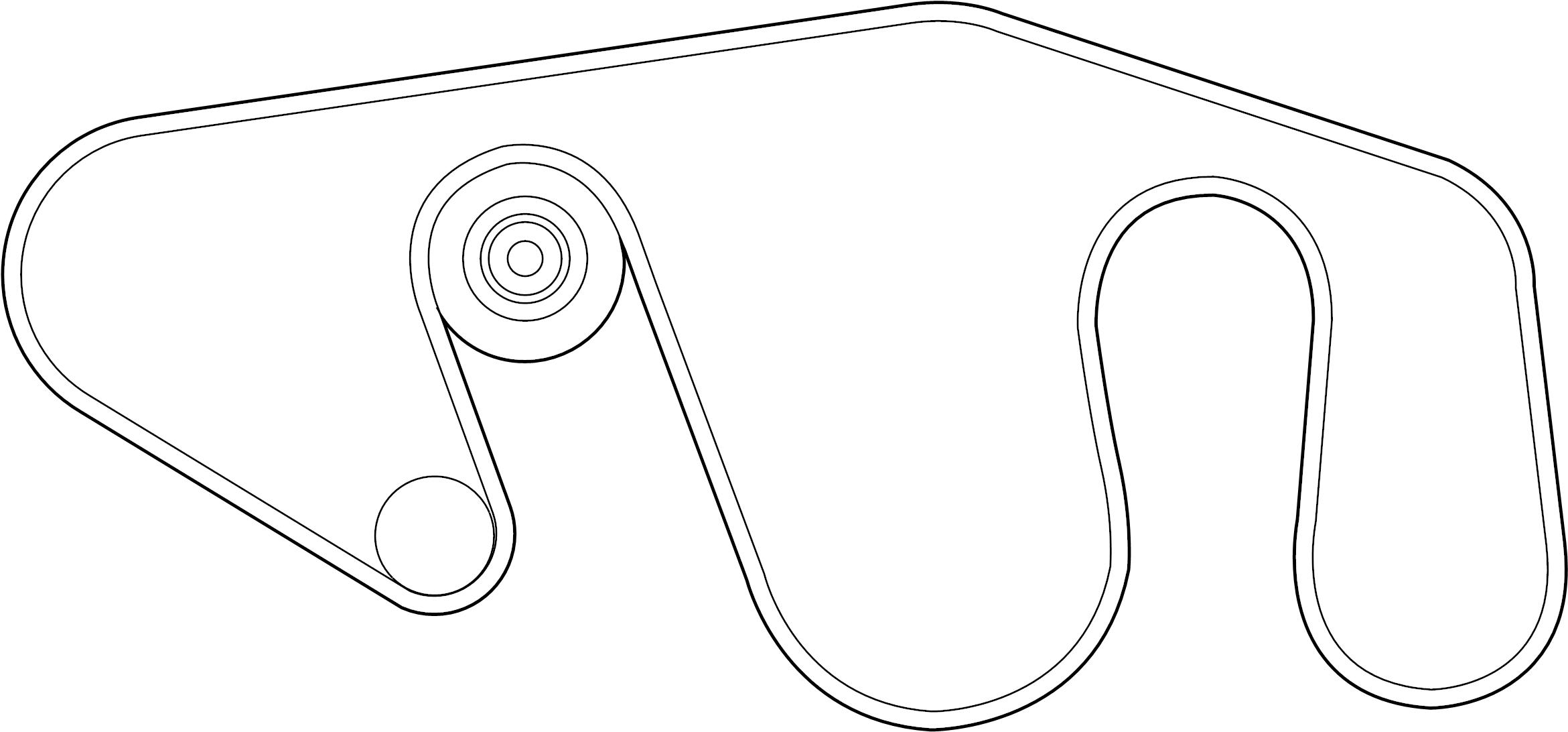 Nissan Frontier Serpentine Belt Tensioner Belts