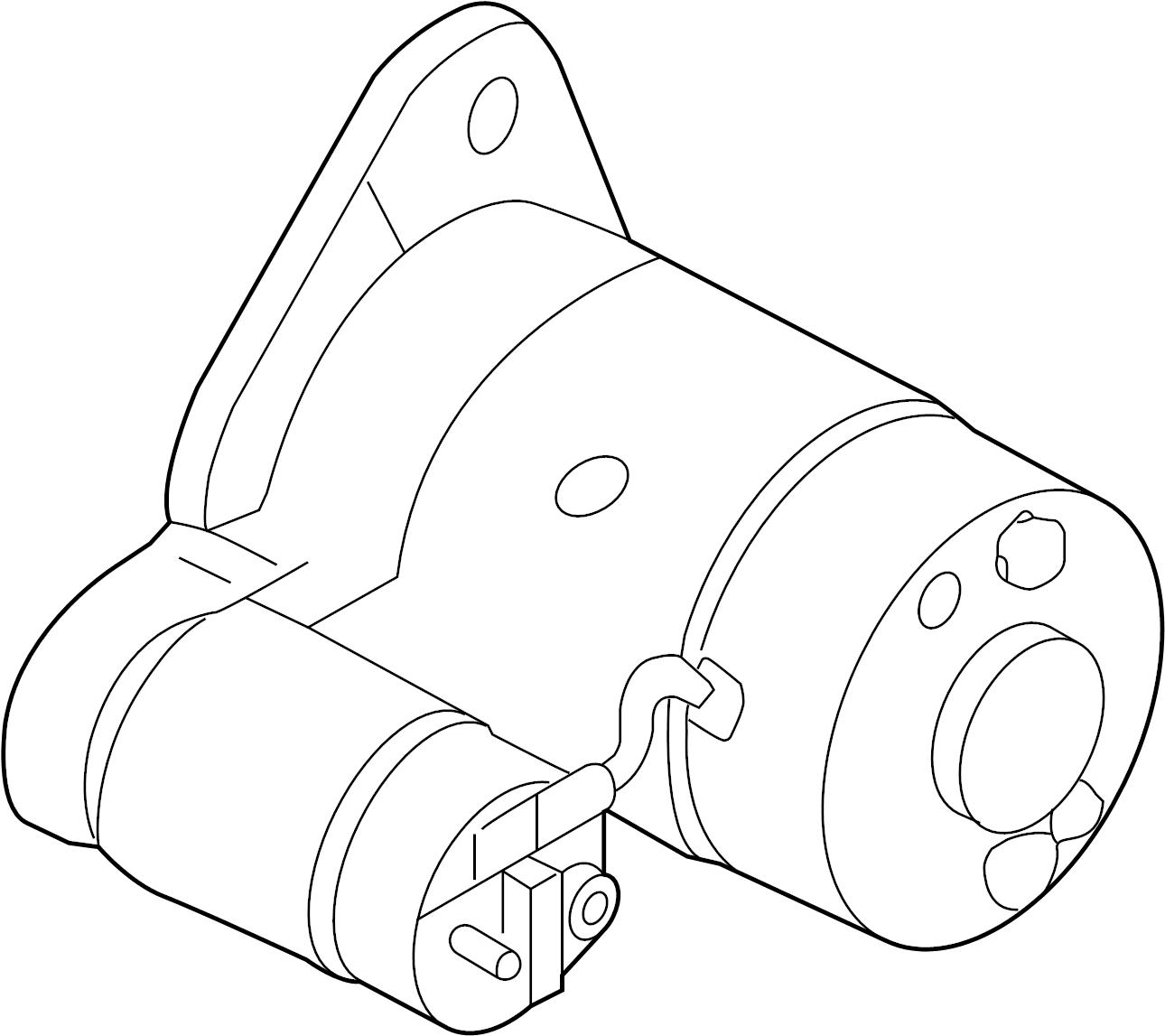 Nissan Altima Starter Motor Assy