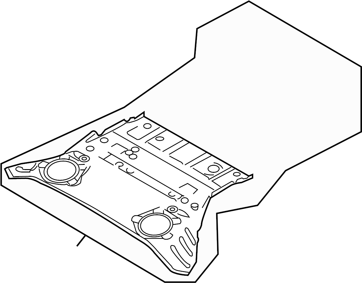 Nissan 370z Floor Pan Front Rear