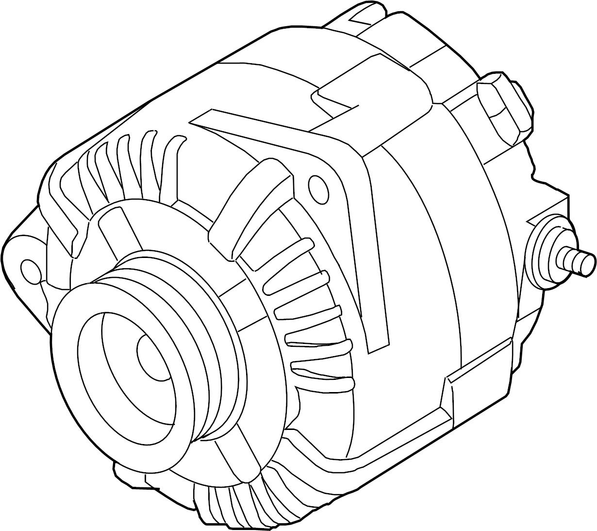 Nissan Maxima Alternator Assy