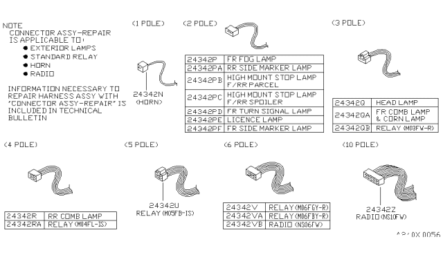 b43430ufb0  genuine nissan parts