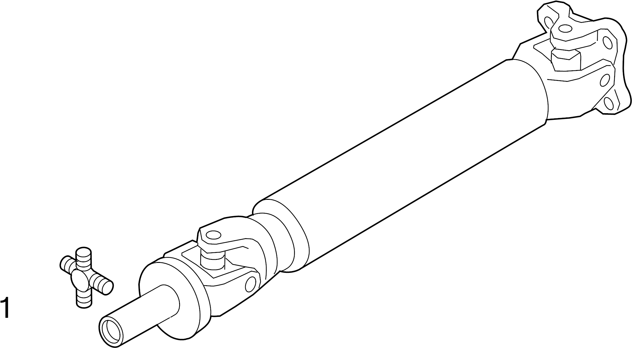 Nissan Frontier Universal Joint