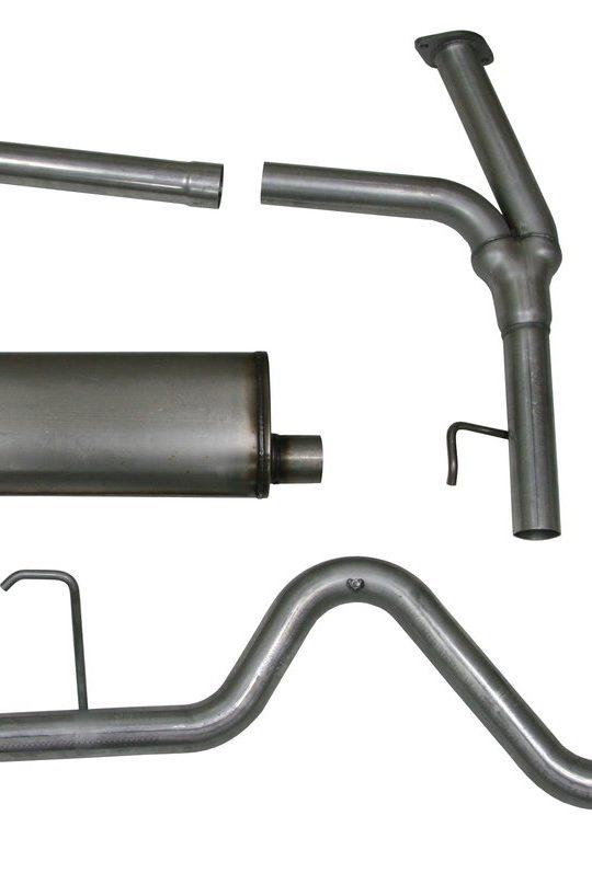 Exhaust Frontier 2005 Stainless Nissan Steel