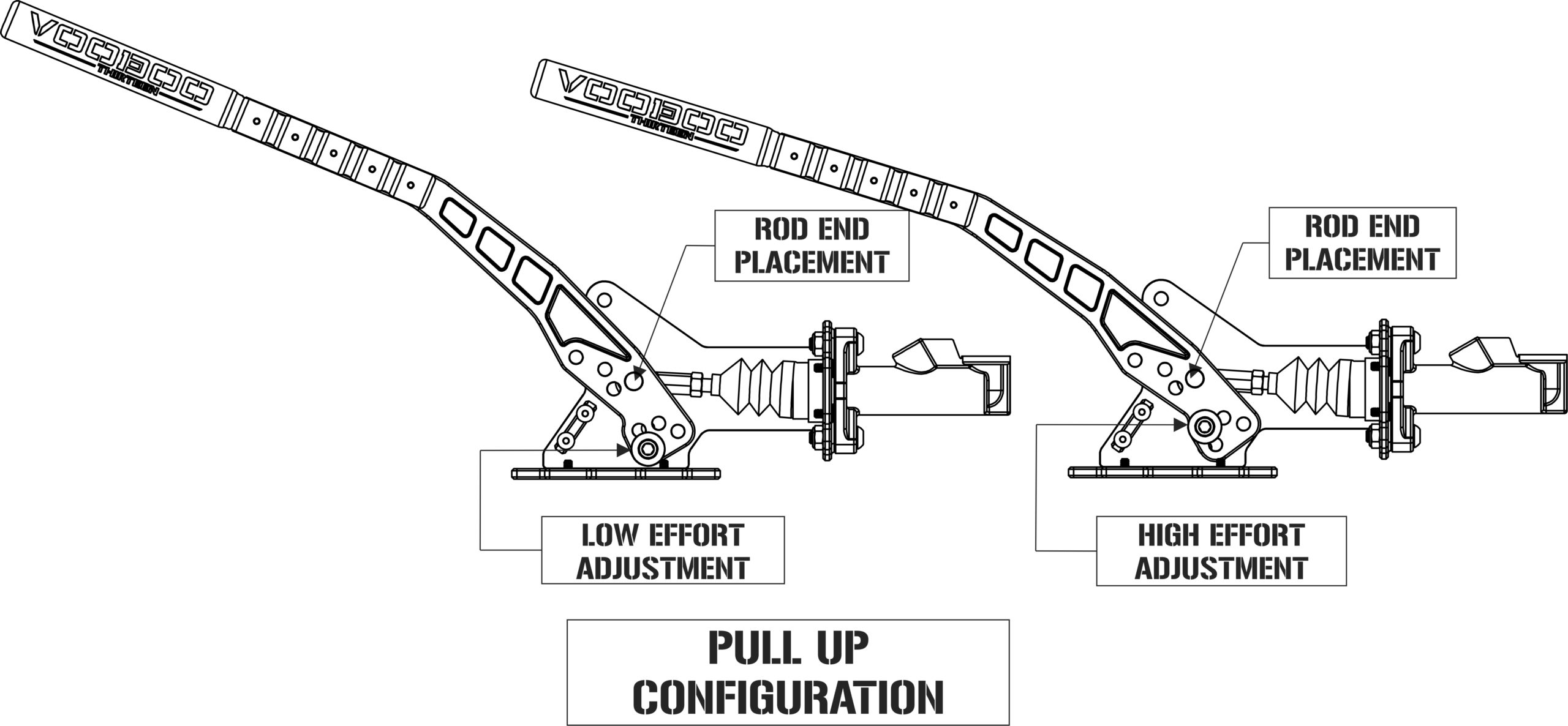 Voodoo13 Hydraulic Handbrake