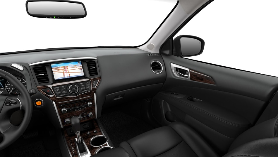 2013 Nissan Pathfinder Almond Leather Interior 360 View