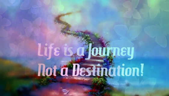 Journey Comes First, Destination Later!