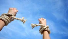 breaking rope ties