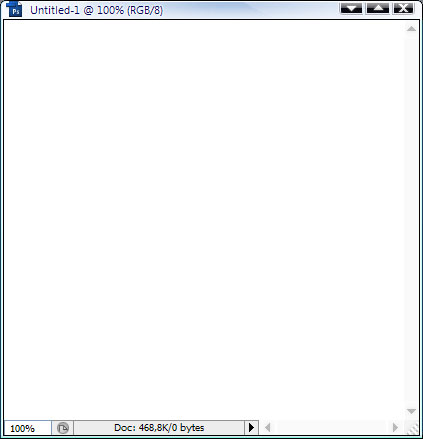 Open a new 400×400 document