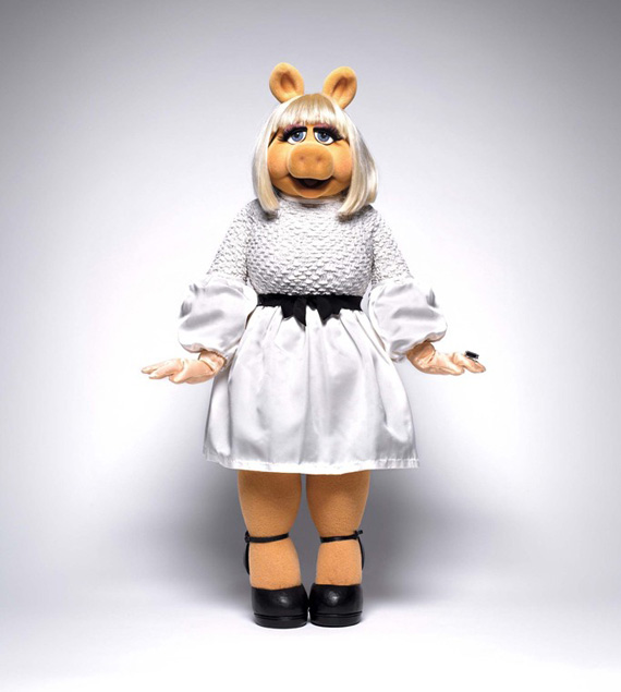 Miss Piggy for InStyle November 2011 Issue