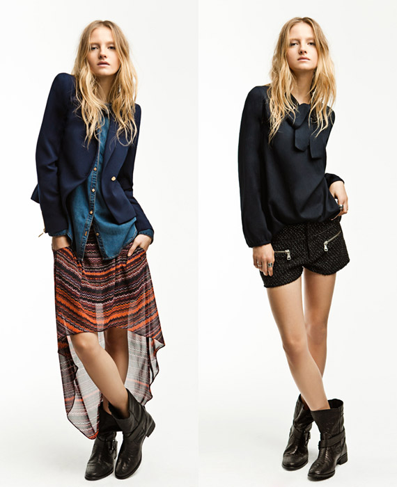 Zara TRF November 2011 Lookbook